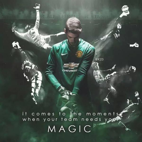 David De Gea #MAGIC #mufc