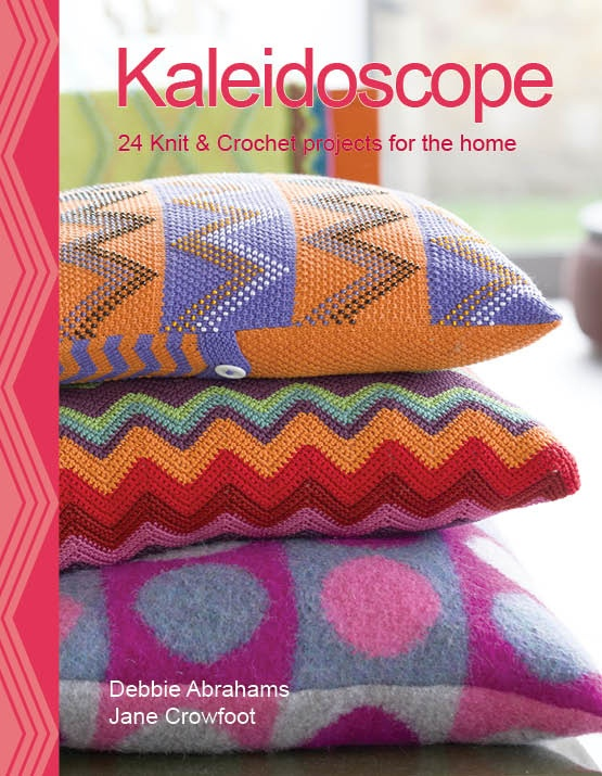 Kaleidoscope by Debbie Abrahams & Jane Crowfoot. My best buddy Debbie's lovely book sits proudly on my coffee table. Few pics were taken in our house.
