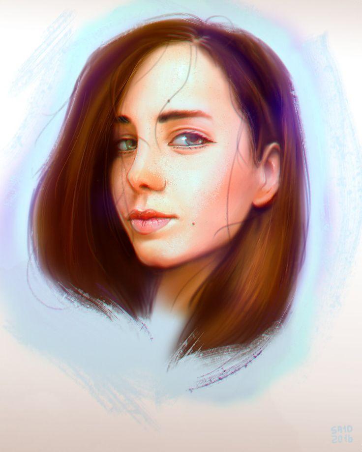Katherine, Александр Нагорный on ArtStation at https://www.artstation.com/artwork/K20xG