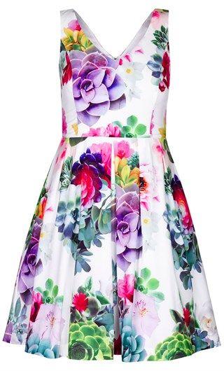 City Chic - Succulent dress