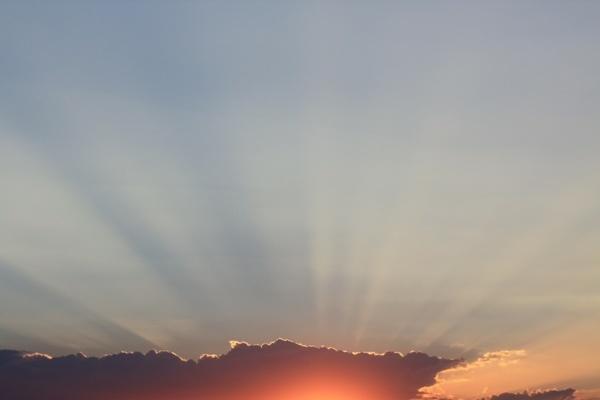 Beautiful sunset,Jozini dam, Pongola, South Africa