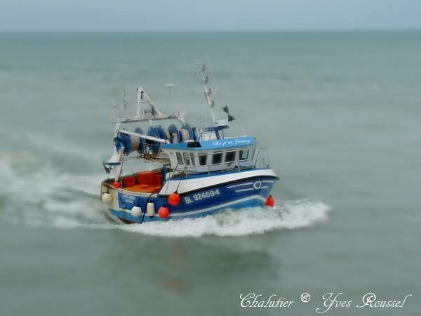 Trawler French to the Tréport in Seine-Maritime © Yves Roussel