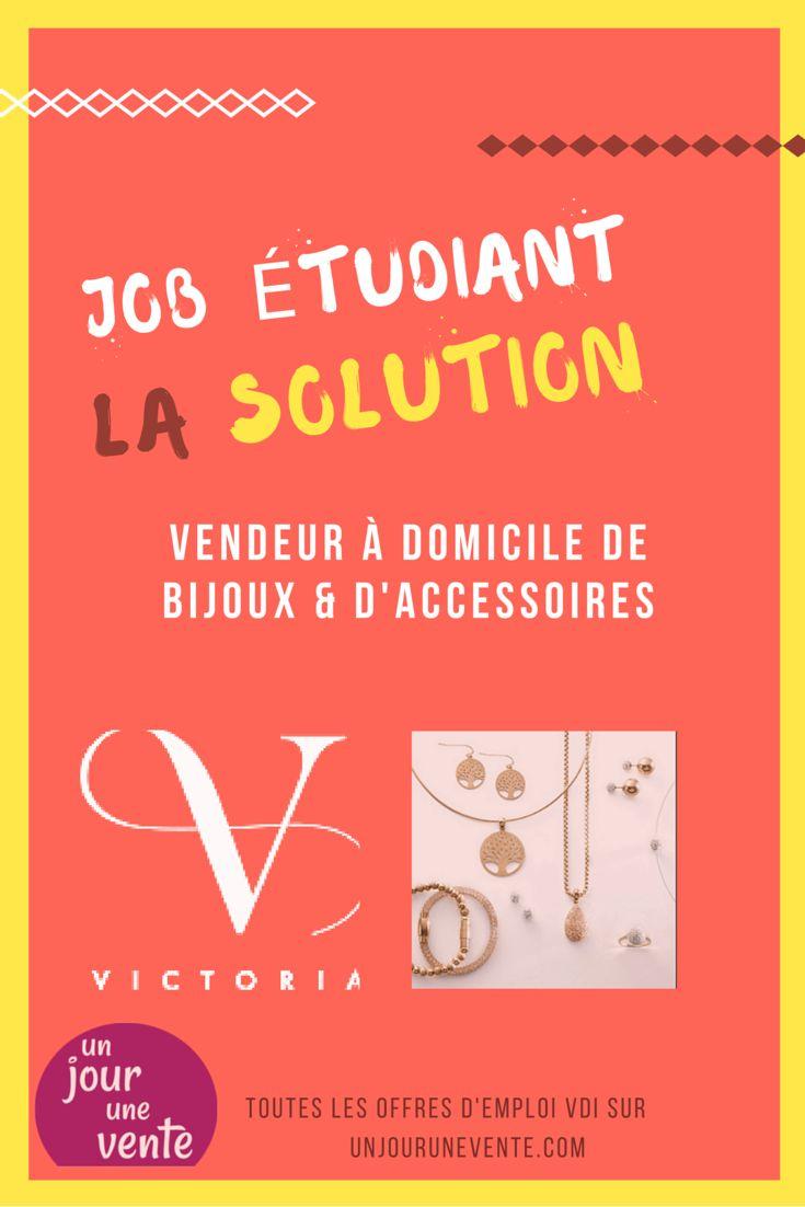 Offre d'emploi Victoria France. Sans investissement ! #bijoux #qualité #unjourunevente #VDI #femmes #beauté