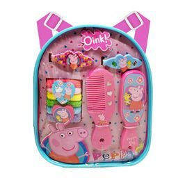 Just found amazing new website MassGenie. Price drops when you Crowd shop. $7.51, Save 53%. Peppa Pig Mini Backpack Hair Accessory 13 Piece Set. #peppapig #toy