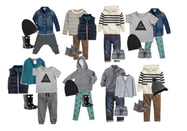 Little Boys Capsule Collection via Three Little Crowns Blog