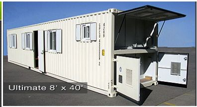 Storage Container Cabins 8x20 Or 8x40 Would Make For A