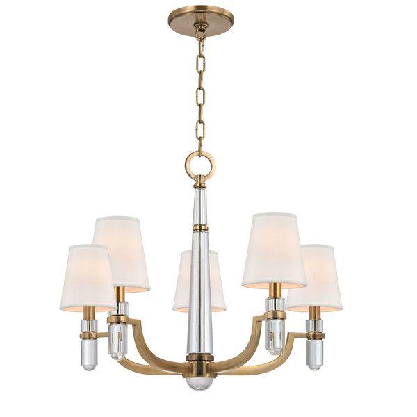Hudson Valley Lighting Dayton 5 Light Chandelier & Reviews | Wayfair
