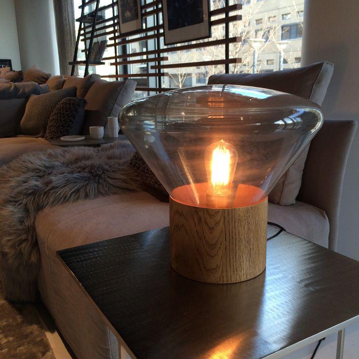 Unikt og sjov bordlampe