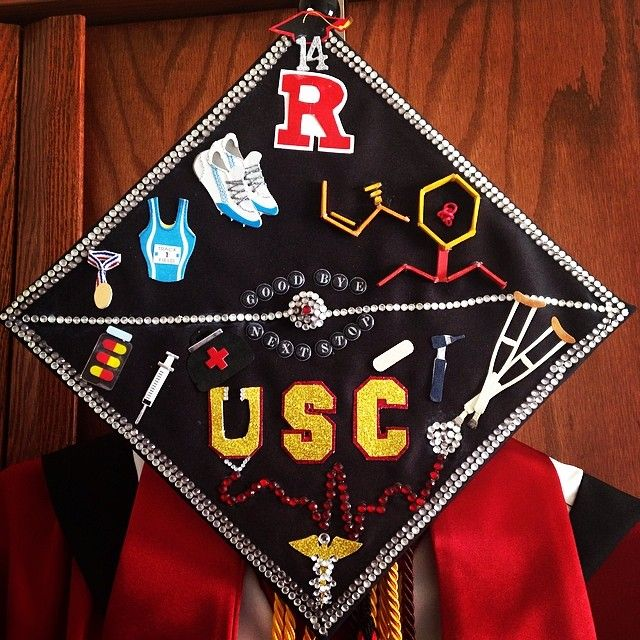 Goodbye Rutgers ...Next Stop USC ! ☀️My life in a nutshell lol A lot going cause that's how my life has pretty much been. #RU14 #gradcap #nextstopmedschool #USC #Keck #Padgram