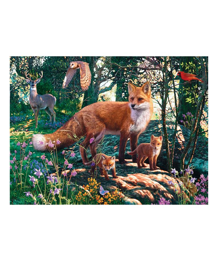 Hidden Images The Woodlands 550-Piece Puzzle