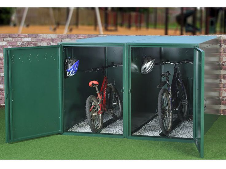 Best 25 Bike Locker Ideas On Pinterest Outdoor Bike Storage