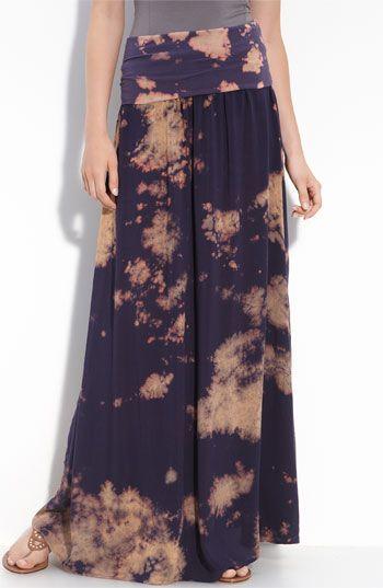 Splendid Tie Dye Maxi Skirt