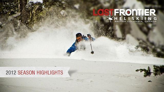 Last Frontier Heliskiing: Highlights from our 2012 Season.    #heliski #heliskiing #video #movie