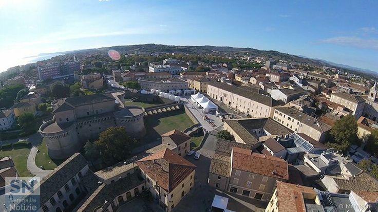 Panoramica sopraelevata di Senigallia... (Foto di : Daniele Manocchi)