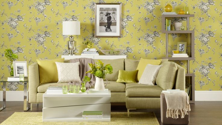 56 best images about statement wallpaper ideas on for Bright wallpaper for living room