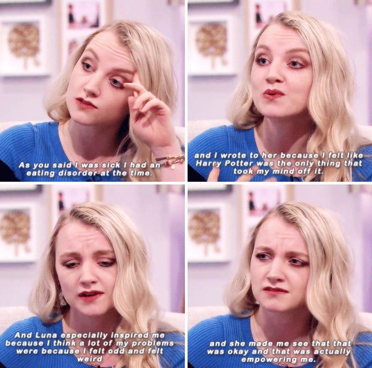 Evanna Lynch on writing to JK. Rowling