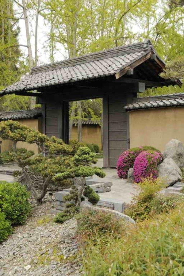 Awesome DIY Japanese Garden Ideas You Can Create To Accent Your Landscape | Japanese  Garden Designs Design No. 5177 | #gardening #landscaping