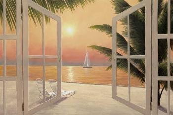 """Beach Window"" by Diane Romanello"