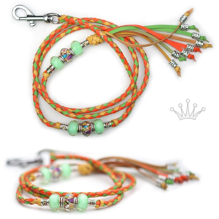 FOR SALE! Kangaroo leather show lead in soft orange, yellow & apple. Interested? Visit the link for more information! #showlead #showleads #showleash #dogshow #emoticon #emoticonleads #emoticonshowleads #kangarooleather #showdog #customlead #customshowlead #dogshows #utställningskoppel #kangarooleatherlead #dogshowlead