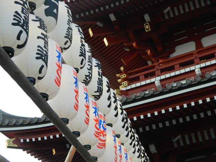 浅草寺 雷門 (Kaminarimon Gate) in 東京, 東京都