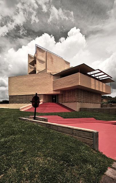 'Annie Pfeiffer Chapel' by Frank Lloyd Wright (Florida Southern University:  Lakeland, FL)