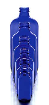 Cobalt Blue Glass Bottles & Containers