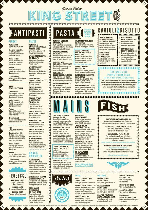 Πάνω από 25 κορυφαίες ιδέες για Jamieu0027s italian στο Pinterest - italian menu