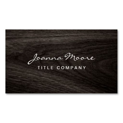 Classy dark oak wood grain professional profile business card templates. I love this design! It is available for customization or ready to buy as is. All you need is to add your business info to this template then place the order. It will ship within 24 hours. Just click the image to make your own!