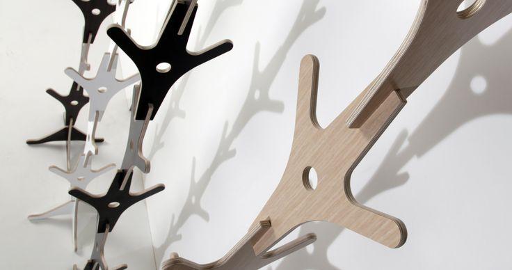 Ypsilon coat-rack  Designed by Athanasios Babalis