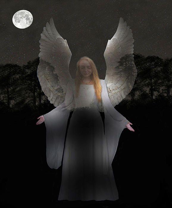 Spiritual Angel - Customised Christmas Cards Fine Art America