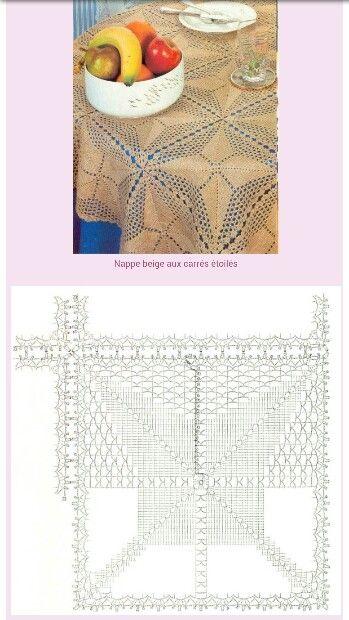 Advanced Crochet Patterns : Advanced crochet pattern Crochet?Tablecloths Pinterest
