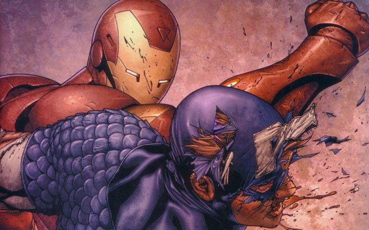 Comic-Soon: CAPITAN AMERICA: CIVIL WAR, SONO INIZIATE LE RIPRE...