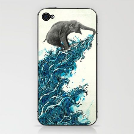 iPhone case illustrations by Jimmy Tan