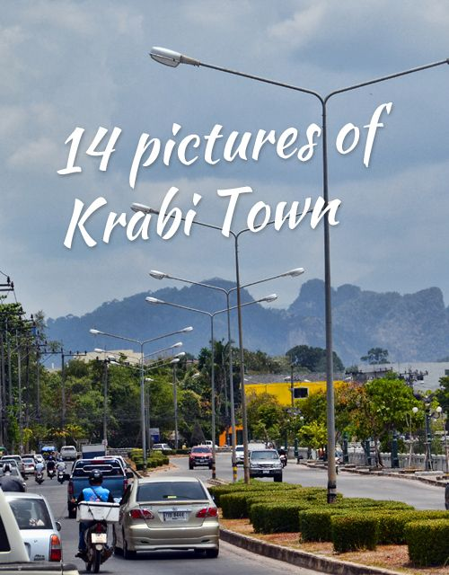 14 Pictures of Krabi Town