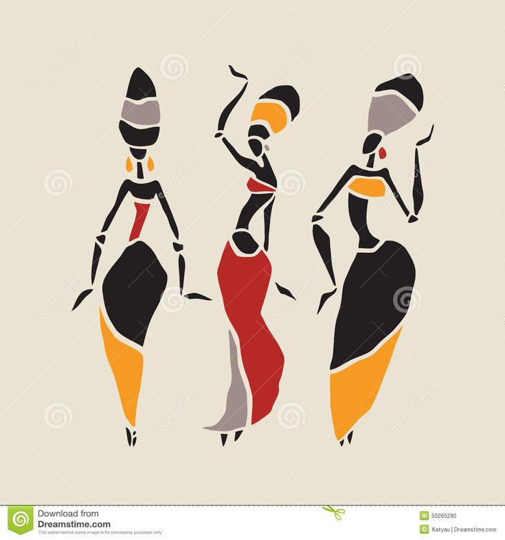 African Dancers Silhouette Set - Download From Over 59 Million High Quality Stock Photos, Images, Vectors. Sign up for FREE today. Image: 50265290