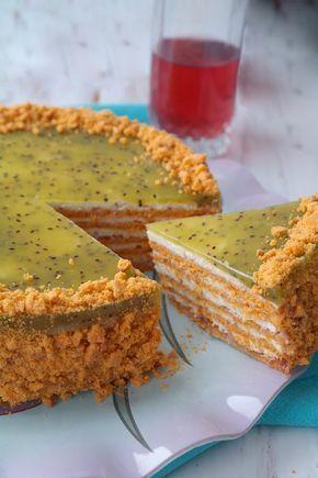 """В прошлом году я, как и многие, пекла красивый торт """"Сахара"""" . А совсем недавно встретила вариант этого десерта. Как обычно это бывает, кул..."""