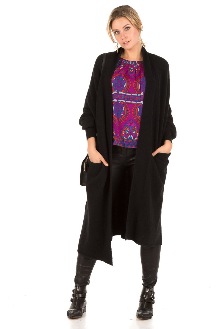 Zijden blouse Veronica | paars