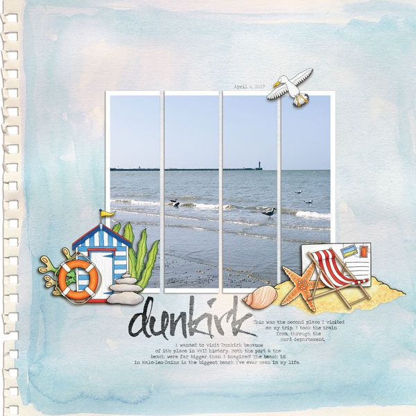 Dunkirk by MelanieB at the Lilypad for the July 2017 #KateHadfield blog template challenge!