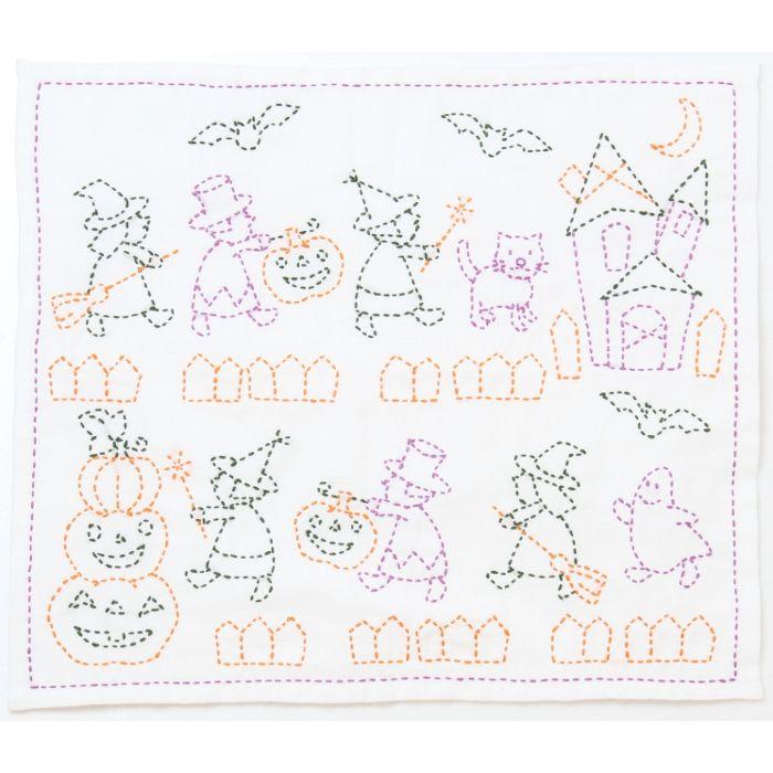 halloween quilt fabric