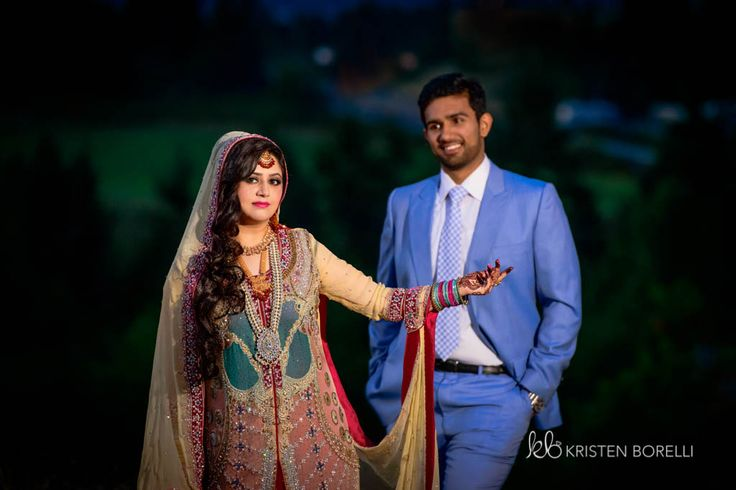 Pakistani Bride and Groom wedding portrait (Kristen Borelli Photography, Pakistani Wedding, Vancouver Island Wedding Photography, Victoria Wedding Photography, Nanaimo Wedding Photography, Prince George Wedding Photography)