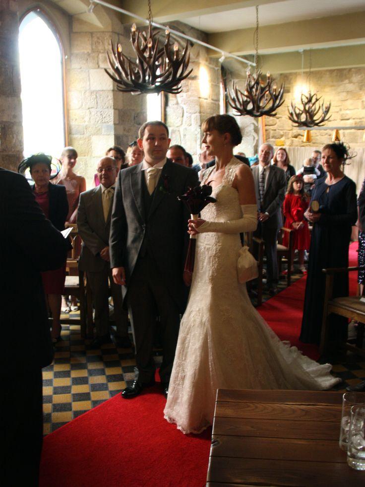 Helen and John Brain who married at Blackfriars Restaurant