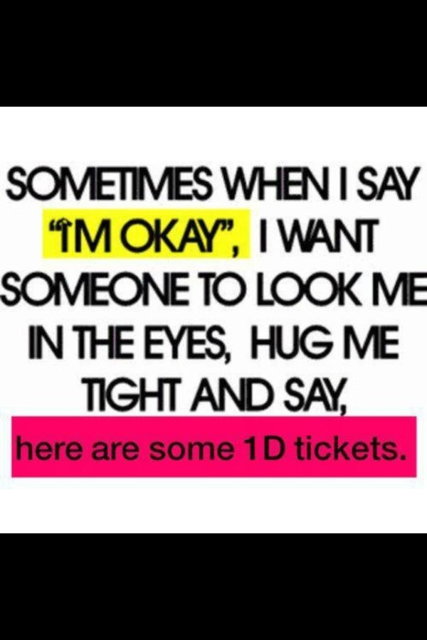 NEVER A MORE ACCURATE DESCRIPTION. IF SOMEONE EVER GAVE ME TICKETS I WOULD FEEL LIKE THAT PERSON TRULY LOVED ME.
