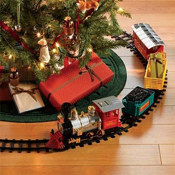 I Have Always Wanted A Train For Under Our Tree!!maybe This Year I