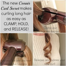A Beautiful Exchange: Long lasting curls with the Conair Curl Secret!