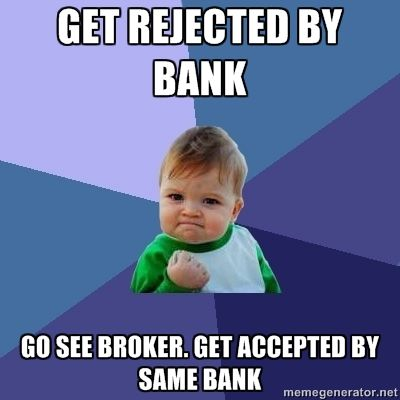 Ahhh... one of the many advantages of using a mortgage broker :-) http://loanscanada.ca