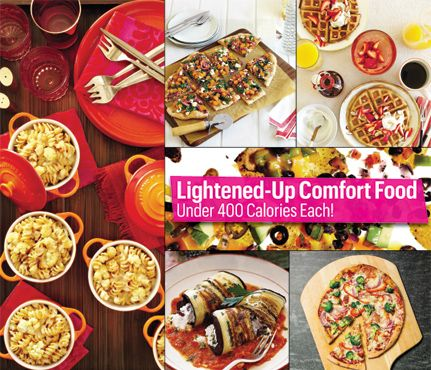 Lightened-Up Comfort Food (Under 400 Calories Each!): Food & Diet: Self.com : Baby, it's cold outside! Warm up with one of these classic comfort food recipes. We've taken our faves and make 'em low calorie—so you can enjoy your dinner, not regret it. via @SELF Magazine