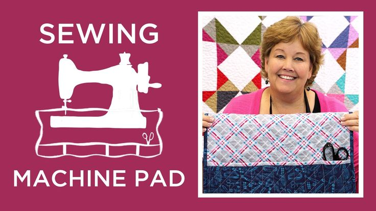 Click this link to get supplies: http://bit.ly/sewingmachinepad . Jenny Doan of MSQC shows us a quick and easy way to make a sewing machine pad with pockets ...