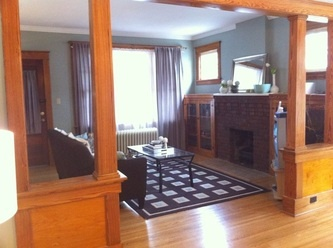 Historical craftsman living room.  Get professional design plans from only $ 250 per room!  http://www.interiordecoratingwindsor.com  #interiordesign