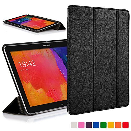 From 4.99 Forefront Cases Leather Folding Case Cover With Smart Auto Sleep Wake Function For 10.1 Inch Samsung Galaxy Tab Pro - Black