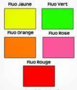 Pourquoi certaines couleurs sont-elles fluo ?